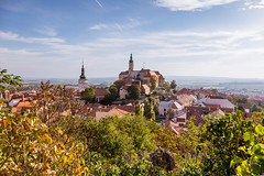 South Moravian town of Mikulov in autumn colors (PhotoVision by Pavel Rezac) Tags: agriculture architecture autumn beautiful bottle building castle chapel church city country cultivation cultural czech destination europe european farm fortress garden hill historic historical history landmark landscape medieval moravia old outdoor panorama red rock romantic roof south summer sunny sunset tourism touristic tower town travel unesco view vineyard viniculture white wine mikulov southmoravianregion czechrepublic cz