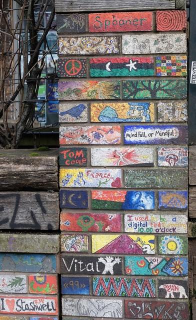 Painted bricks