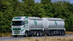 BT63571 (18.07.18, Motorvej 501, Viby J)DSC_5410_Balancer (Lav Ulv) Tags: 255727 silo tanker tankvogn tankwagen tanktruck volvo volvofh fh4 fh540 2017 dlg ulricknørtoft white rigid trailer vmtarmtrailer e6 euro6 6x2 truck truckphoto truckspotter traffic trafik verkehr cabover street road strasse vej commercialvehicles erhvervskøretøjer danmark denmark dänemark danishhauliers danskefirmaer danskevognmænd vehicle køretøj aarhus lkw lastbil lastvogn camion vehicule coe danemark danimarca lorry autocarra danoise vrachtwagen motorway autobahn motorvej vibyj highway hiway autostrada