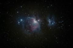 Orion Nebula - 1st edit (ukmjk) Tags: orion nikon d500 200500 nebula