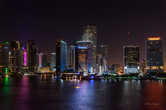 Miami (Uwe Weigel) Tags: miami night city cityphotography travel travelpictures pic view colorsofday building sea light citystyle cityview nicepic bestdestination photooftheday photopgrapher photoshot outdoor