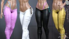 NEW !EE Rilona pants @ Tres Chic! (!ΕΕ Original Meshes) Tags: elvenelder ee treschic new newrelease mesh exclusive maitreyalara belleza isis freya fashion slink hg