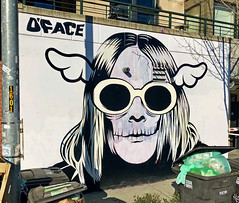 Kurt Cobain by D Face (wiredforlego) Tags: graffiti mural streetart urbanart aerosolart publicart seattle washington sea dface