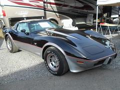 1978 Chevy Corvette Pace Car (splattergraphics) Tags: 1978 chevy corvette pacecar indianapolis500 c3 survivor carshow carlisle springcarlisle carlislepa