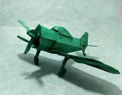 Zero fighter (Kajmana) Tags: aircraft plane zerofighter origami papercraft