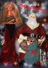 Happy Holidays, Merry Christmas to all my Flickr Friends and there Families (marieschubert1) Tags: holidays christmas santa barbie doll wishes