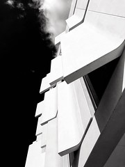 Lines (mariano iannuzzi) Tags: iphoneography iphone abstract contrast shape lines blackwhite architecture