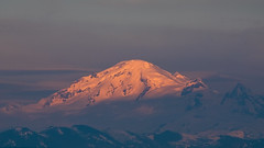 Mount Baker (Brian.Schick) Tags: mount baker wash white rock vancouver sunset mountain snow