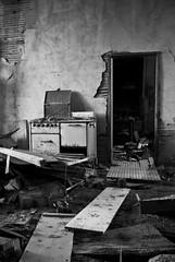 The Straight And Narrow (ⓦeͤ █ iͥ rͬ dͩLiͥ █ G̷̃̊̏̂̓͂̅) Tags: abandoned urbex asbestos exploring interior creepy art photography eclectic abstract decay trespass monochrome mono blackwhite blackandwhite bw texture keota colorado ghosttown condemned