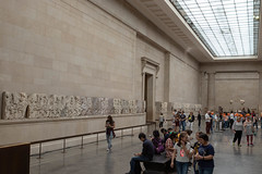 IMG_0148 (beggs) Tags: 2018 travel london england unitedkingdom unitedkingdomofgreatbritainandnorthernireland britishmuseum museum art sculpture elginmarbles parthenonmarbles greeksculpture ancientgreeksculpture