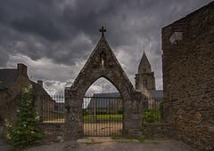 Saint-Suliac church (JLM62380) Tags: saintsuliac church église vierge grille croix village bretagne breizh britain france