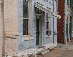 (jwcjr) Tags: dublinga dublingeorgia laurenscountyga southernarchitecture door window building awning smalltown smalltownga smallcity smallgacity pentax