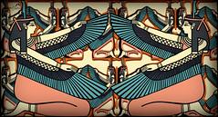 Egyptian inspiration (SØS: Thank you for all faves + visits) Tags: digitalartwork art kunstnerisk manipulation solveigøsterøschrøder artistic egypt women colors fantasy 100views mirror