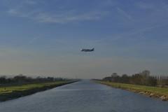 Beluga XL 140219_DSC2944 (Leslie Platt) Tags: exposureadjusted straightened riverdee airbus hawardenairport broughtonfactory belugaxl secondflyover saltneyferry