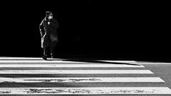 The Conformist (Mattiii photo) Tags: street streetphotography streetphoto streetshot streetphotographer streets streetitalia streetph streetshots streetphotograph streetlife streetparma streetimage streephotographer streetminimal strada streethsot streetpassioneadwards person woman one minimal minimalist mininalism minimales blackandwhite blackandwhitephotography blackandwhitephoto blackandwhiteshot blackandwhitephotographer blackwhite dark biancoenero biancoeneroforever biancoenerofoto bnw bnwphotography bnwphoto great nice zebra zebracrossing conformist nonconformist conformista parma italia italy italianstreetphotography italianstreetphotographer italian ita