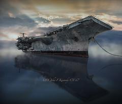 USS JFK CV-67 RS 2145- (P.E.T. shots) Tags: ussjohnfkennedy usnavy navyyard navy mothballfleet power enormous impressive ship warship aircraftcarrier