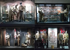 Exhibition of uniforms and weapons of the British and Canadian armies in 1943 (Seby / Sebastian Di Guardo) Tags: wwii museum exhibition center ciminiere catania allied invasion sicily operation husky uniforms weapons british canadian army 1943