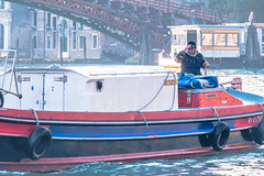 Hard Day's Night (Gerry Lynch/林奇格里) Tags: boats canal candid grandcanal italy street venice exif:focallength=120mm exif:isospeed=400 exif:aperture=ƒ63 exif:make=nikoncorporation exif:lens=2401200mmf40 exif:model=nikond750 camera:model=nikond750 camera:make=nikoncorporation