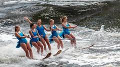 Hey it's Moomba! (Derek Midgley) Tags: dsc00947 women girls water ski yarra river models promotion moomba festival competition beautiful smiles fun festive happy laughter enjoy joy