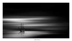 Pirates !!!!! (michel di Méglio) Tags: marseille bw noiretblanc monochrome olympus photoshop light lumière shadow boat bateau zuiko silverefexpro sea mer seascape