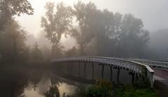 Morning Mist (Peter ( phonepics only) Eijkman) Tags: zaandam zaanstad zaan zaanstreekwaterland nederland netherlands nederlandse noordholland holland