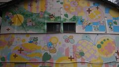 20190401_P1050174 (NAMARA EXPRESS) Tags: street city urban house wall painting picture 16x9 spring daytime cloudy outdoor color umeda osaka japan panasonic lumix dmcgm1 gm1 20mm f17 asph namaraexp