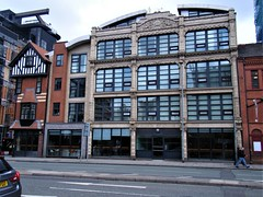 Manchester = Hudson Buildings = Great Ancoats Street (rossendale2016) Tags: 1924 built accomodation apartments flags converted warehouse former street ancoats great manchester buildings hudson's