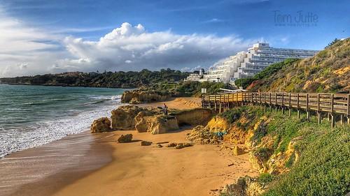 Praia da Oura Leste, Albufeira, Portugal - 2105