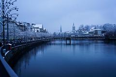 Zürich (RS_1978) Tags: schnee fluss winter schweiz gewässer stadt sony sonyalpha7rii brücke zürich acqua bridge city eau ilce7rm2 neige neve nieve river rivière snow wasser water ch batis240cf