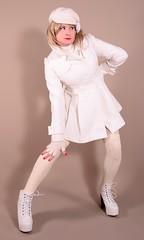 117H4L (klarissakrass) Tags: jacket booties overknees crossdress transgender fashion fashionphotography