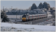 Cross Country Trains HST 43301 in the Snow (Mark's Train pictures) Tags: coltonsouthjunction railway train highspeedtrain hst intercity125 43301 1v50