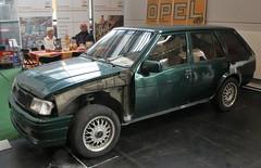Corsa Wagon (Schwanzus_Longus) Tags: bremen classic motorshow german germany old vintage car vehicle station wagon estate break combi kombi opel corsa caravan gm general motors vauxhall nova