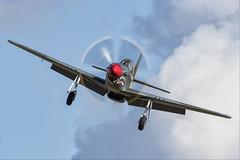 North American P-51D Mustang - 14 (NickJ 1972) Tags: imperial war museum iwm duxford battleofbritain airshow 2018 aviation northamerican p51 mustang gshwn kh744 gas