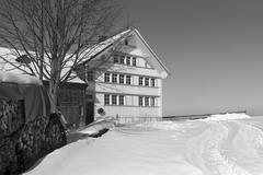 Bauernhaus Appenzell (Leica Monochrome) Tags: architektur appenzell blackandwhite bw blackwhite bauernhaus schwarzweiss schweiz winter leica leicafriend leicafotopark monochrome monochrom ostschweiz fotopark