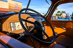 Breakfast Stop - Indialantic, FL (ChuckPalmer {cepalm}) Tags: cars indialantic antique car carshow old vintage chuckpalmer