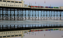 2018_05_06_0220 (EJ Bergin) Tags: sussex westsussex landscape worthing sunset beach sea seaside worthingpier seafront reflection