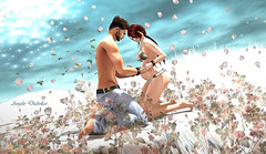 A little Angel, a great dream... And soon my great loves will be two Dimitri and Jael... ❤️❤️❤️ (Angelo Diabolico) Tags: pregnancy baby child posebento bento pose poses posesl posessl posesecondlife posessecondlife bentopose mirrorpose couplepose avsitter