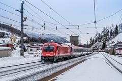 1216 011 ÖBB Steinach in Tirol 01.02.19 (Paul David Smith (Widnes Road)) Tags: 1216011 öbb steinach tirol 010219 1216 taurus österreich