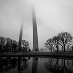 Foggy Morning at the Arch thumbnail
