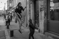 DSCF1440 (LexomIA) Tags: bordeaux street urbain bw nb streetphotography