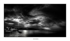 Light on the sea... (michel di Méglio) Tags: marseille olympus silverefexpro monochrome bw noiretblanc mer sea seascape