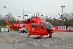 London's Air Ambulance in Colney Hatch (kertappa) Tags: img3535 air ambulance londons london hems doctor paramedics hospital glndn emergency helicopter kertappa colney hatch powerleague barnet