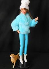 Miss Chile has the Blues, Winter is coming to an end :( (ksavoie1213) Tags: barbieandintegrity mattel chilebarbie dolls barbie dollsoftheworld