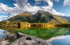 Spätsommer in Ramsau (Andreas Lachmuth) Tags: bayern bergseen hintersee herbst berge mountains mountain lake lago lac berchtesgaden ramsau stiele herbstlicht alpenseen landschaft