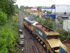 Northenden Junction (ee20213) Tags: northendenjunction class56 freighttrain cheshirelines colasrailfreight 56090