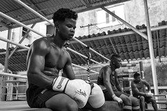 Boxers (michael.mu) Tags: 35mm cuba havana leica mm246 monochrom summicron boxing yellowfilter streetphotography bw blackandwhite leicasummicronm1235mmasph boxer gym rafaeltrejo