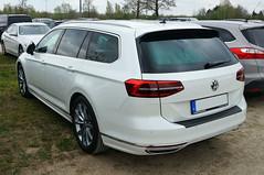 2014 VW Passat Kombi R-Line Heck (Joachim_Hofmann) Tags: auto fahrzeug kraftfahrzeug vw volkswagen passat kombi rline variant kfz