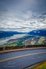 Columbia River Gorge, Oregon (Dude with a Camera) Tags: columbiarivergorge oregon 2018 river clouds