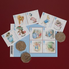Beatrix Potter (Bruce82) Tags: peterrabbit beatrixpotter 50p coin uk royalmint royalmail sigma canon canoneos5dmarkiii 7 7of119 119picturesin2019 sigma105mmexdgf28macrolens