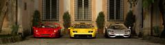 Ferrari F50 - Lamborghini Diablo - McLaren F1 (Matze H.) Tags: ferrari f50 lamborghini diablo mclaren f1 classic super cars gt sport gran turismo hq uhd hdr 4k wallpaper screenshot playstation 4 pro scapes photo mode red yellow silver